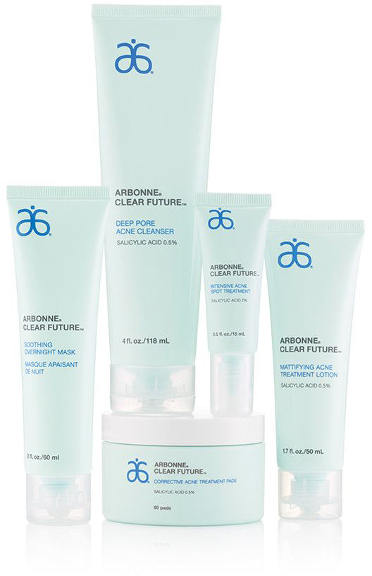 Arbonne Clear Future - just one product that may be suggested as appropriate for you as part of your skincare consultation
