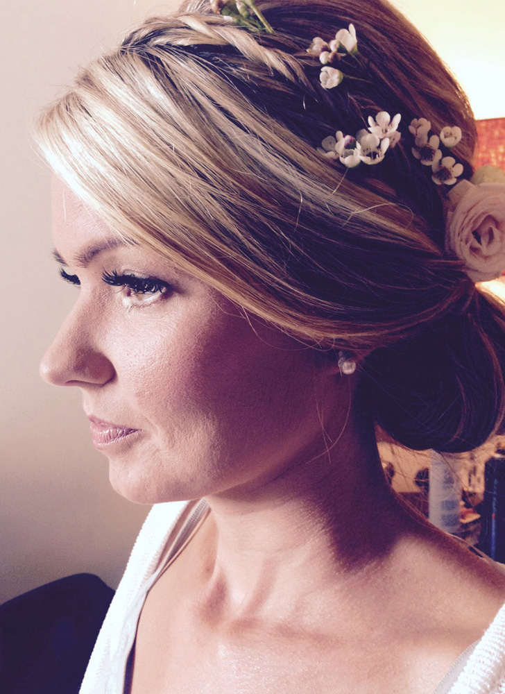 Bridal make-up in Surrey